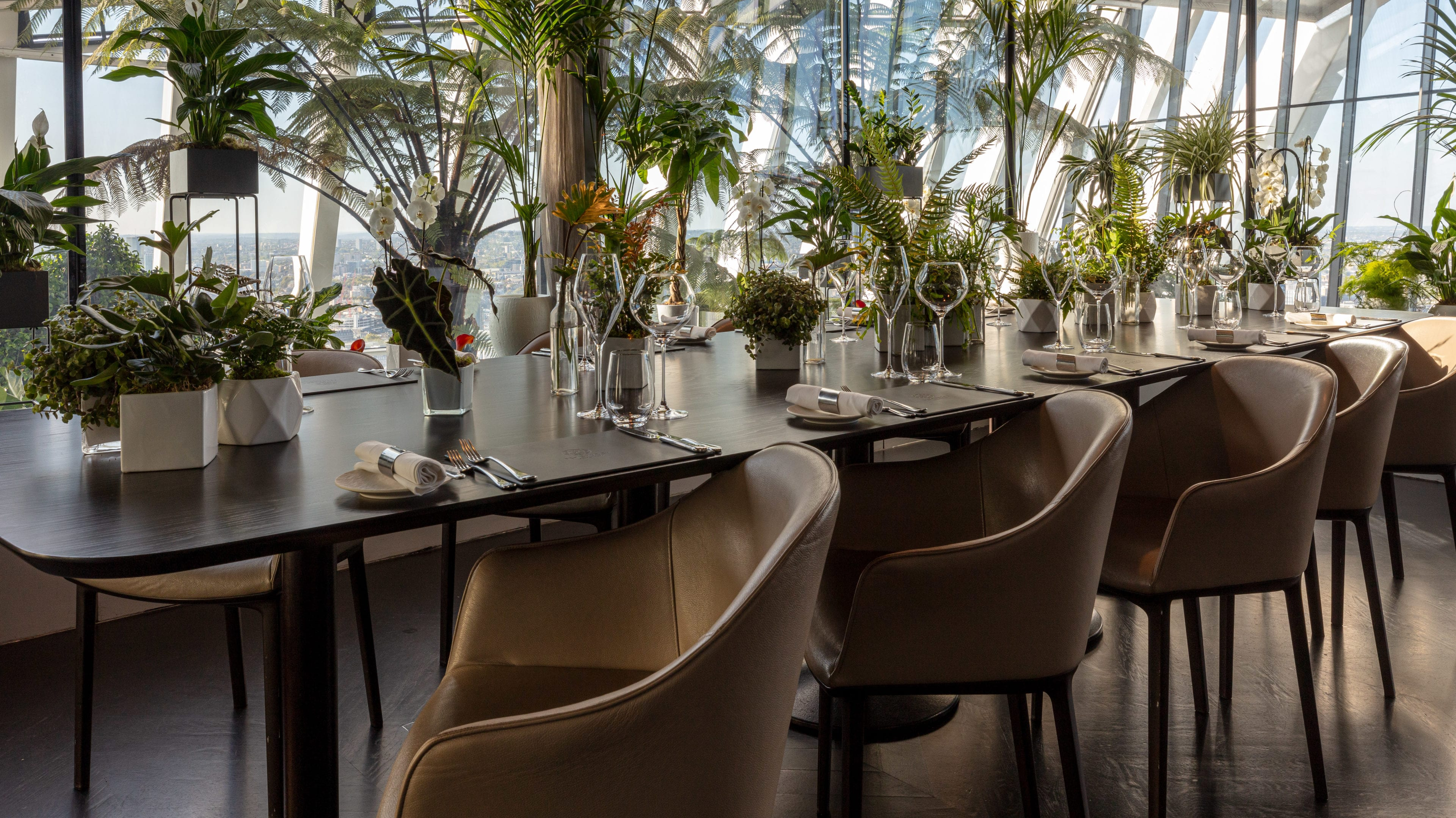 Book Our Private Dining Room Sky Garden