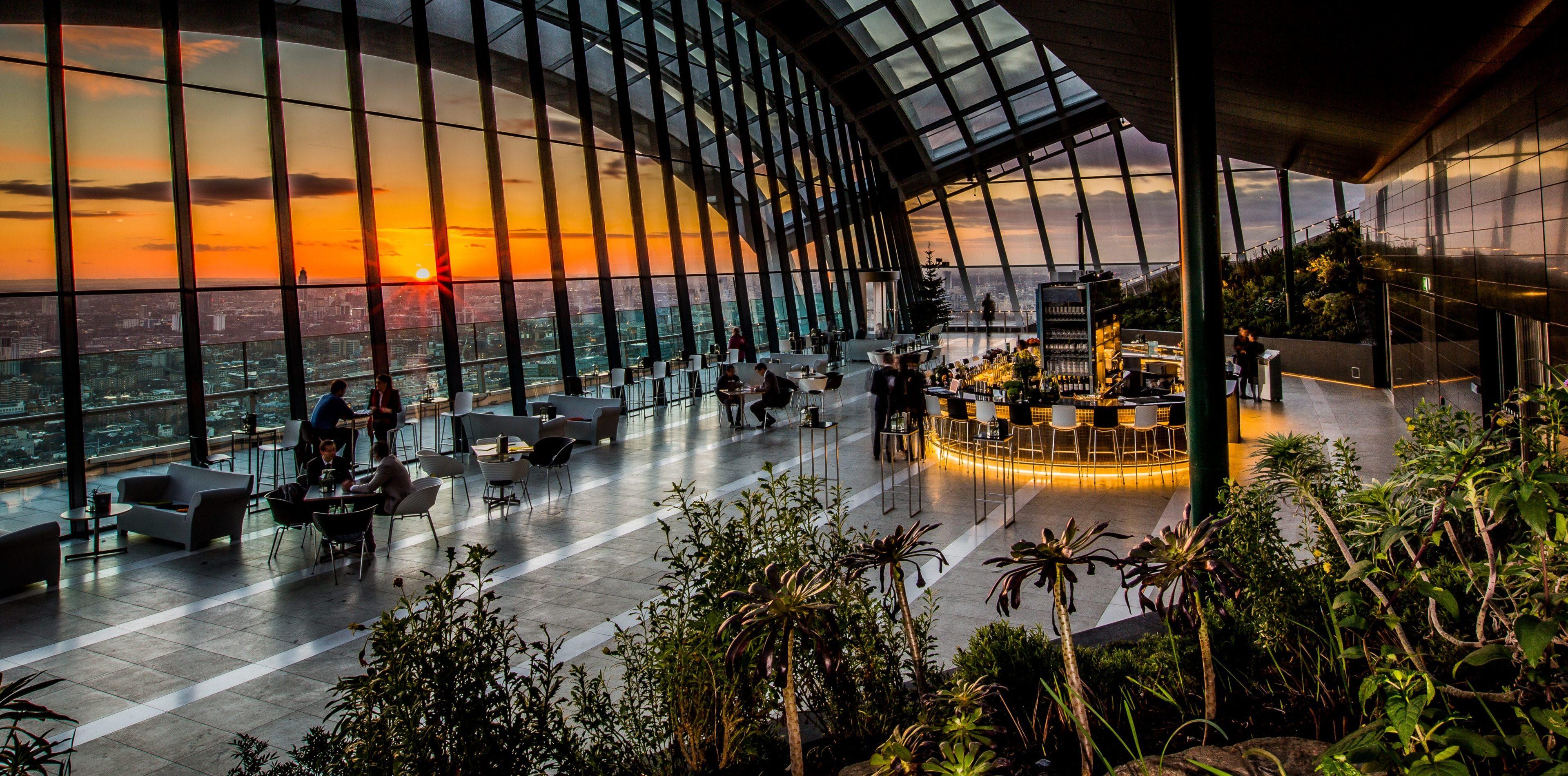 Sky Pod Bar - Sky Garden - London